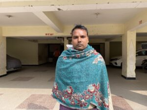 Rupesh Singh Apartment's Guard Manoj Lal