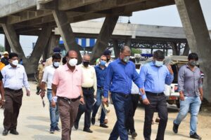 IAS Anand Kishore at Patliputra Bus Terminal-Bihar Aaptak