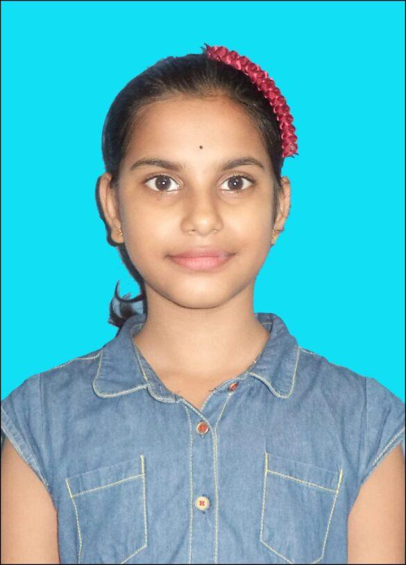 স্বস্তিকা ভুঁই, পঞ্চম শ্রেণী, গৌরাঙ্গীনি বালিকা বিদ্যালয়