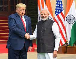 अमेरिकी राष्ट्रपति डोनाल्ड ट्रंप ने भारत और चीन के बीच सीमा विवाद में  मदद की पेशकश की।