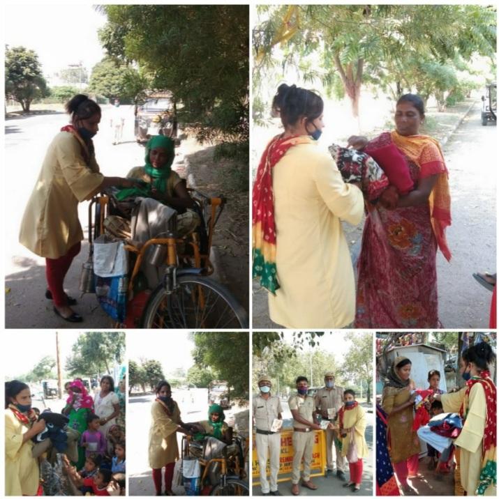 गर्म कपड़े दान देकर करें गरीबों की मदद-संस्था की महासचिव राधिका बहल ने कहा
