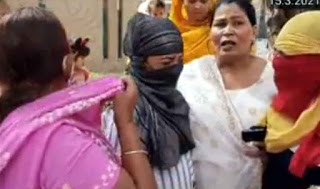 अशोक गोयल की गिरफ्तारी को लेकर पुलिस कमिश्रर से मिली पीडि़त पक्ष की महिलाएं