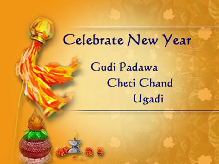 Who celebrates Gudi Padwa, Yugadi, Ugadi, Cheti chand, Navreh?