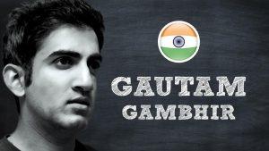 Gautam Gambhir age, wife, retired, net worth, height, family, biography, birthday, career, photos(images), children, awards, education, election, twitter, wiki, facebook, instagram, website, imdb