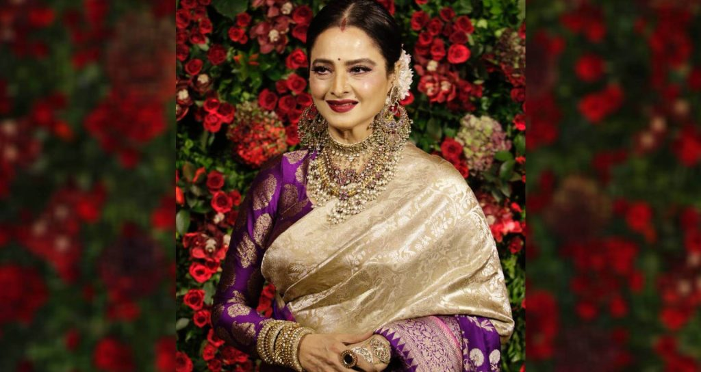 Rekha age, husband, photos(images), biography, date of birth, family, height, net worth, children, wiki, instagram, facebook, twitter, education, youtube, residence, awards, imdb