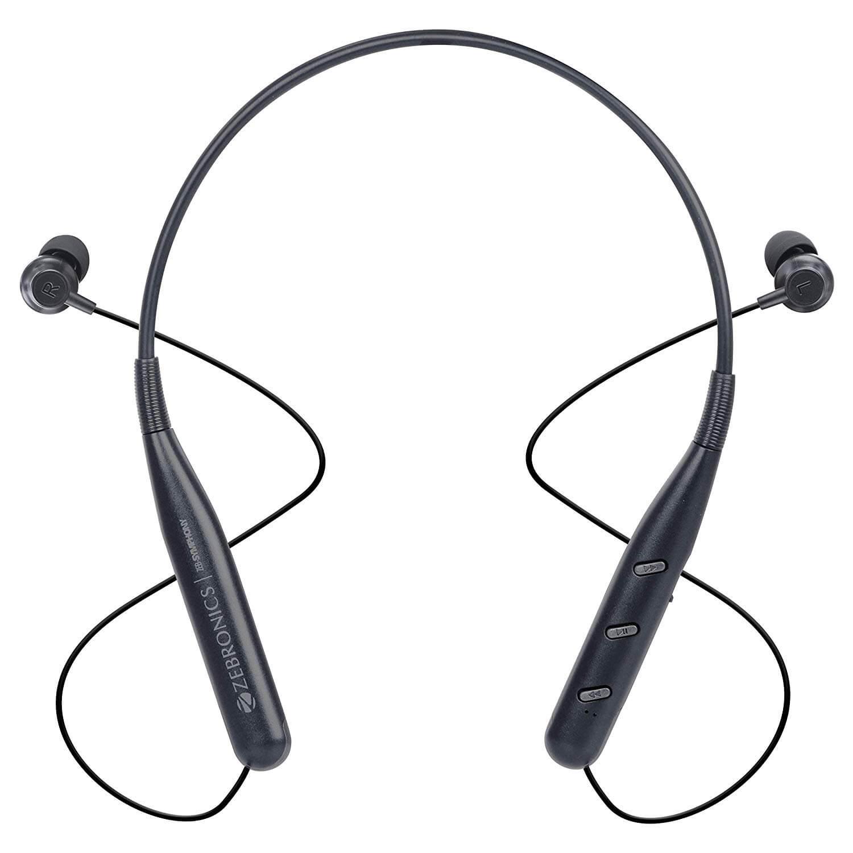 Zebronics Zeb Symphony Bluetooth Earphone With Voice Assistant