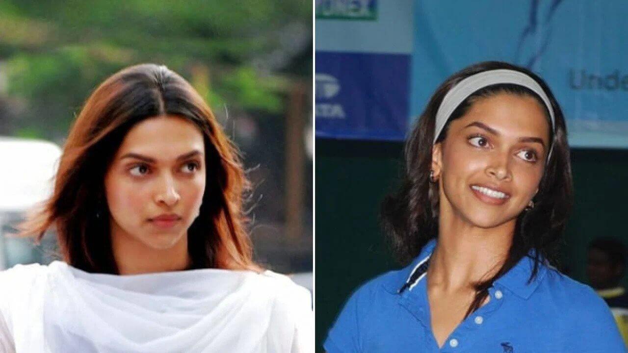 Top 10 Bollywood Actress Without Makeup Deepika Padukone Hot Looking Smiling Face Old