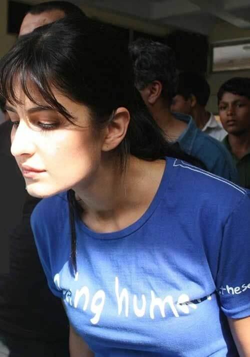 Top 10 Bollywood Actress Without Makeup Katrina Kaif Showing Down