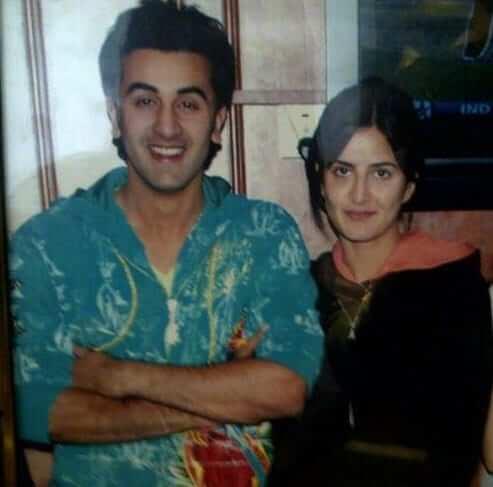 Top 10 Bollywood Actress Without Makeup Katrina Kaif With Ranbir Kapoor