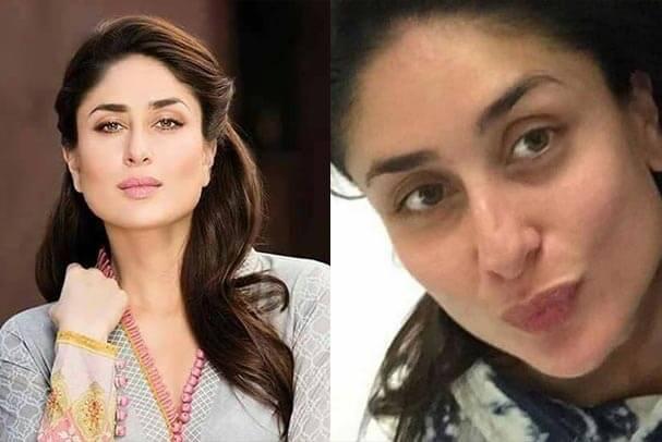 Top 10 Bollywood Actress Without Makeup Kareena Kapoor Face