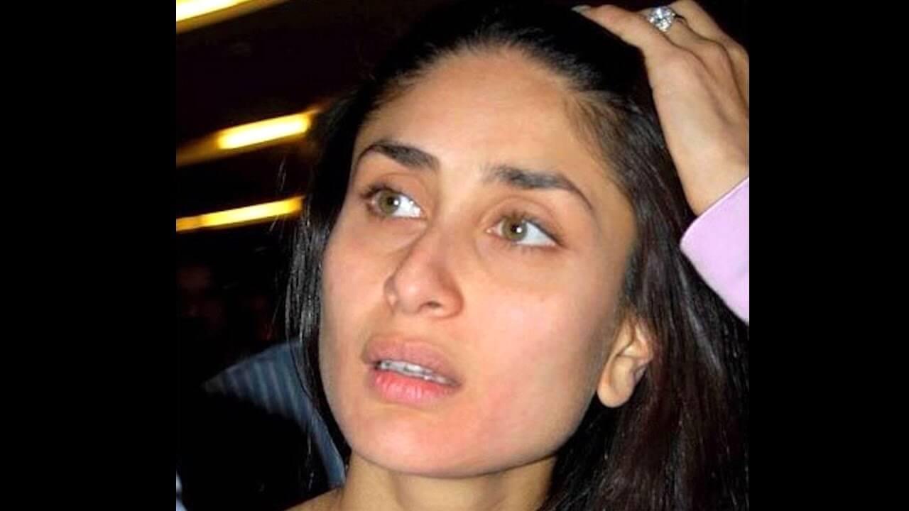 Top 10 Bollywood Actress Without Makeup Kareena Kapoor In Tension