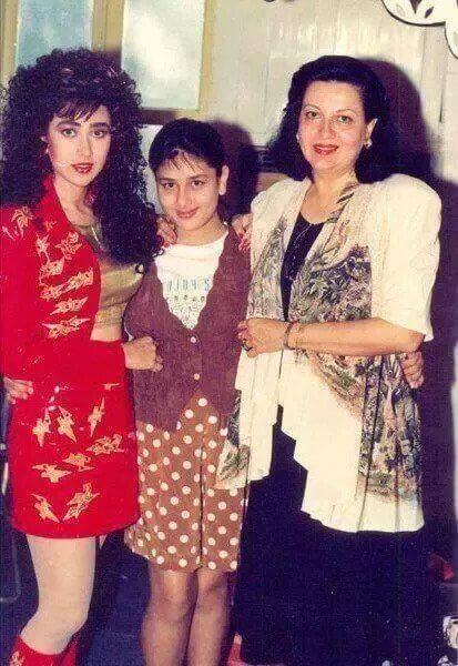 Top 10 Bollywood Actress Without Makeup Kareena Kapoor With Family