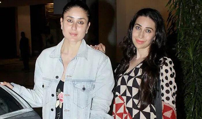 Top 10 Bollywood Actress Without Makeup Kareena Kapoor With Karishma
