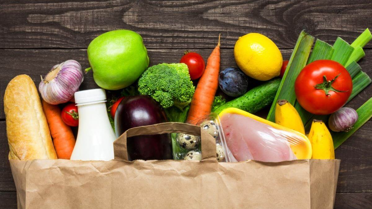 How To Take Care Of Your Mental Health When You Work From Home Eat Avoid Healthy Foods Grocery Bag