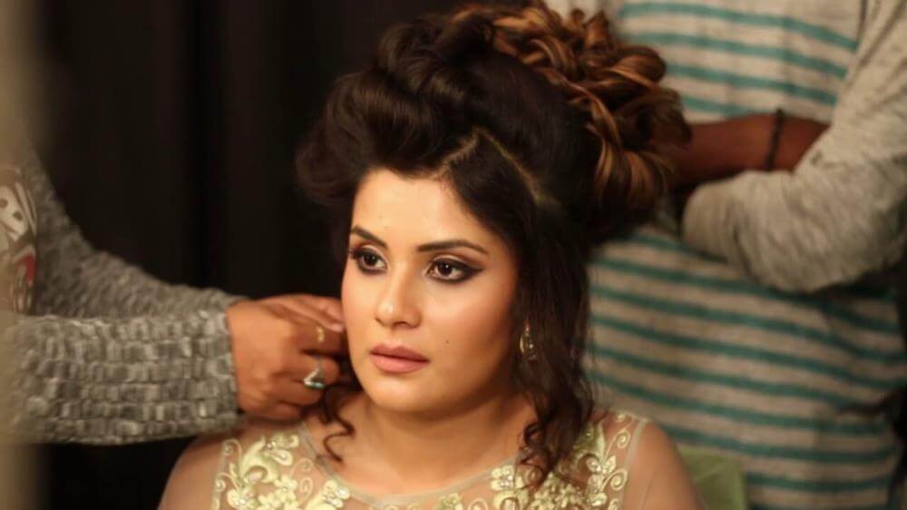 Shamin Mannan Model Actress Makeup