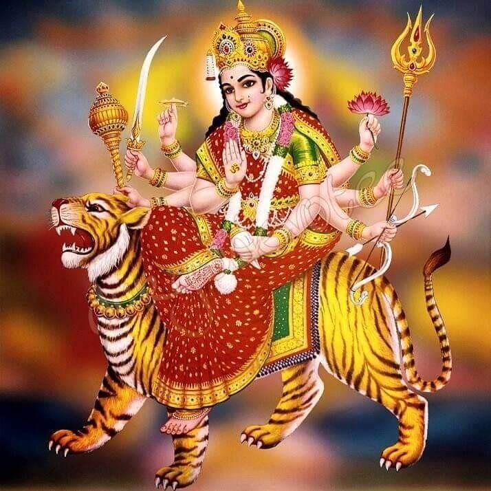 Jay Adhya Shakti Aarti Lyrics In Gujarati English Hindi