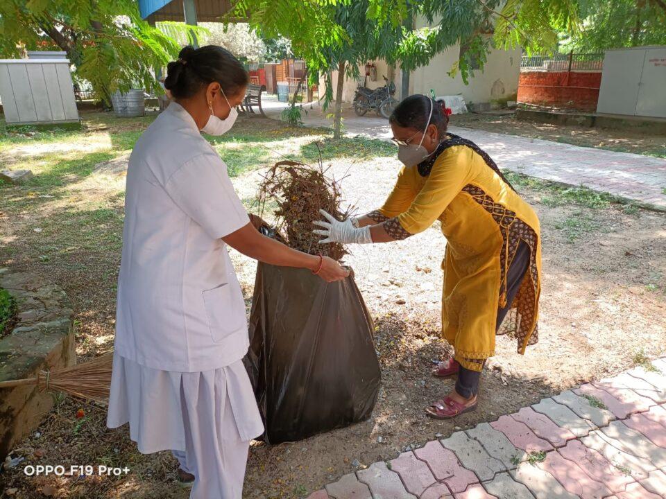 बरेका में गहण स्वच्छता अभियान जारी