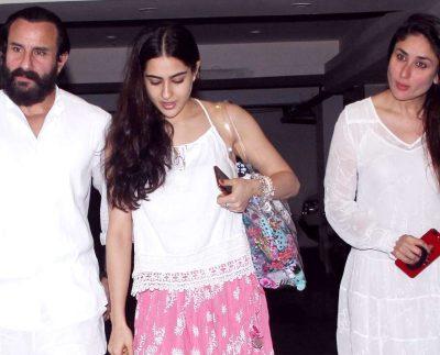 When Sara Ali Khan said to Kareena Kapoor, 'Aunty' husband Saif got angry, know the whole matter