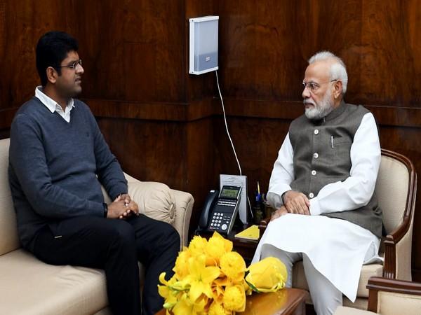Dushyant Chautala met PM Modi,