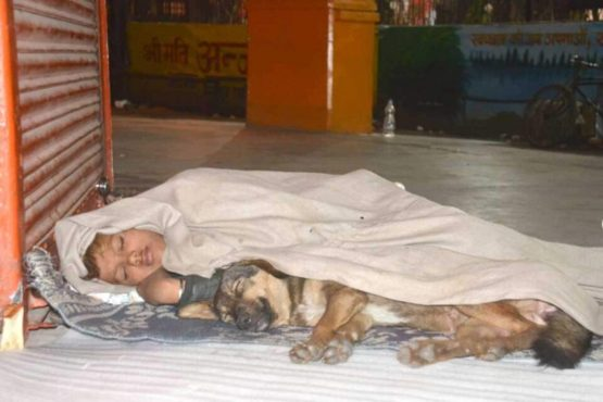 Mother left Masum, father went to jail, dog played friendship