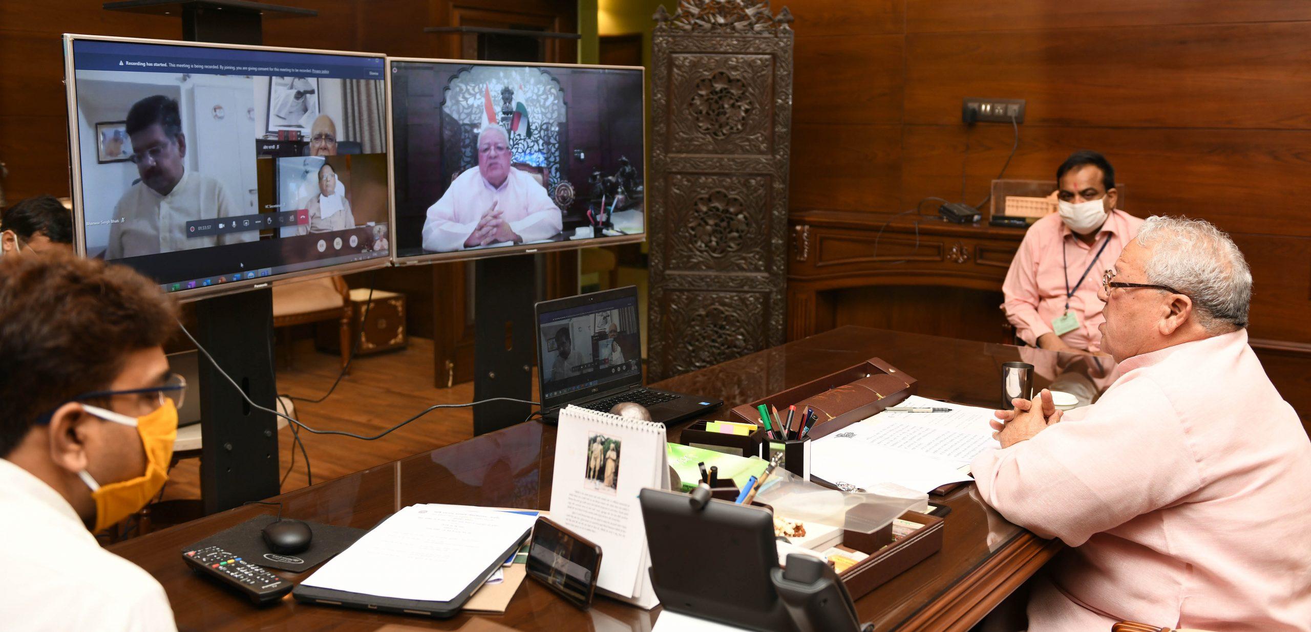राज्यपाल ने कहा पत्रकारिता ने समाज में सकारात्मक वातावरण और कोरोना से लड़ने में सक्षम बनाया
