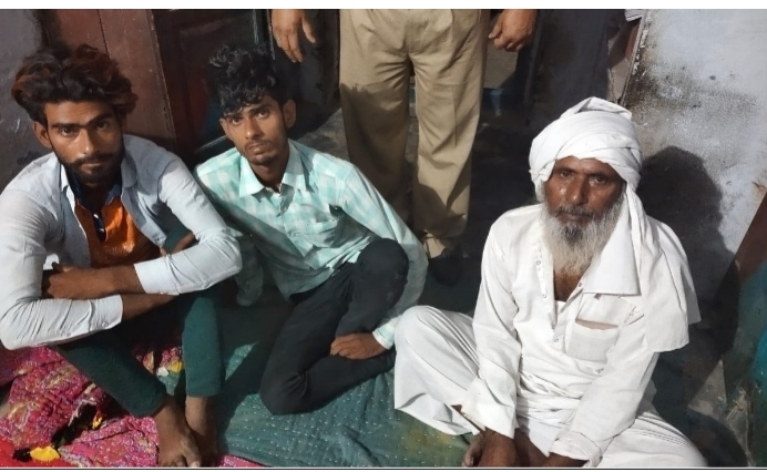नाबालिग से सामूहिक दुष्कर्म व वीडियो वायरल करने के मामले में वांछित एक मुल्जिम गिरफ्तार, दो किशोर निरुद्ध