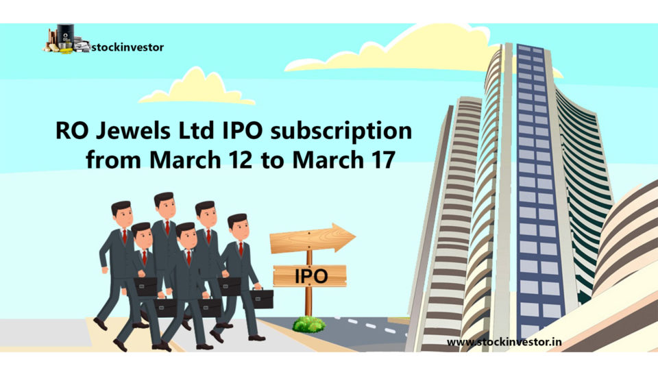 RO Jewels Limited IPO details 38