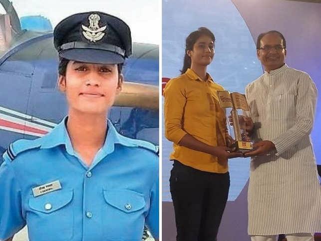 चाय बेचने वाले की बेटी ने रचा इतिहास, उड़ाएगी फाइटर प्लेन, सीएम शिवराज ने दी बधाई 39