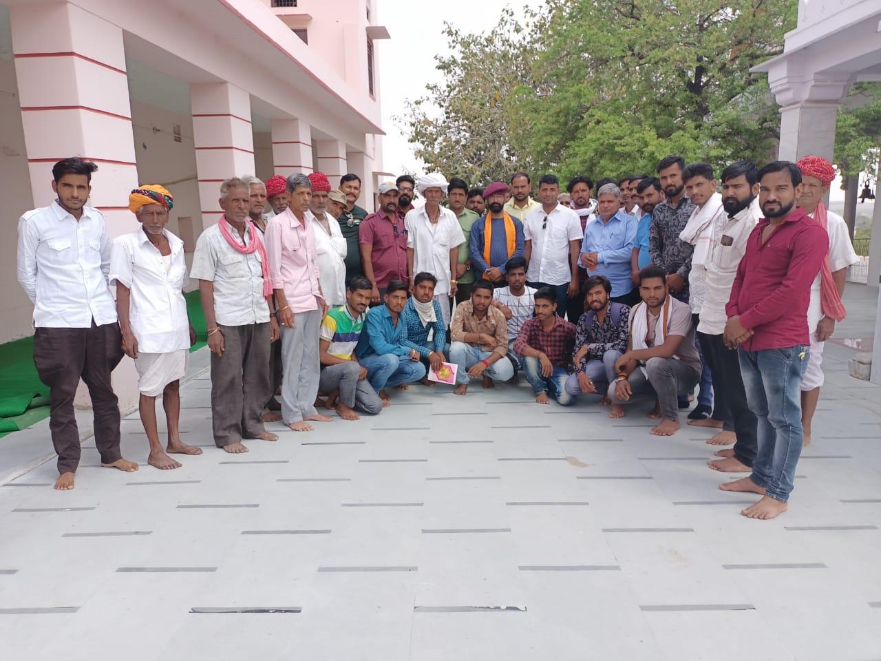 मिशन 09 मई महाराणा प्रताप जन्मोत्सव कुंभलगढ़  पूर्व तैयारी हेतु बेठक हुई सम्पन्न
