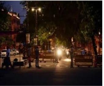 उदयपुर सहित आठ शहरों में राजस्थान सरकार ने लगाया नाइट कर्फ्यू
