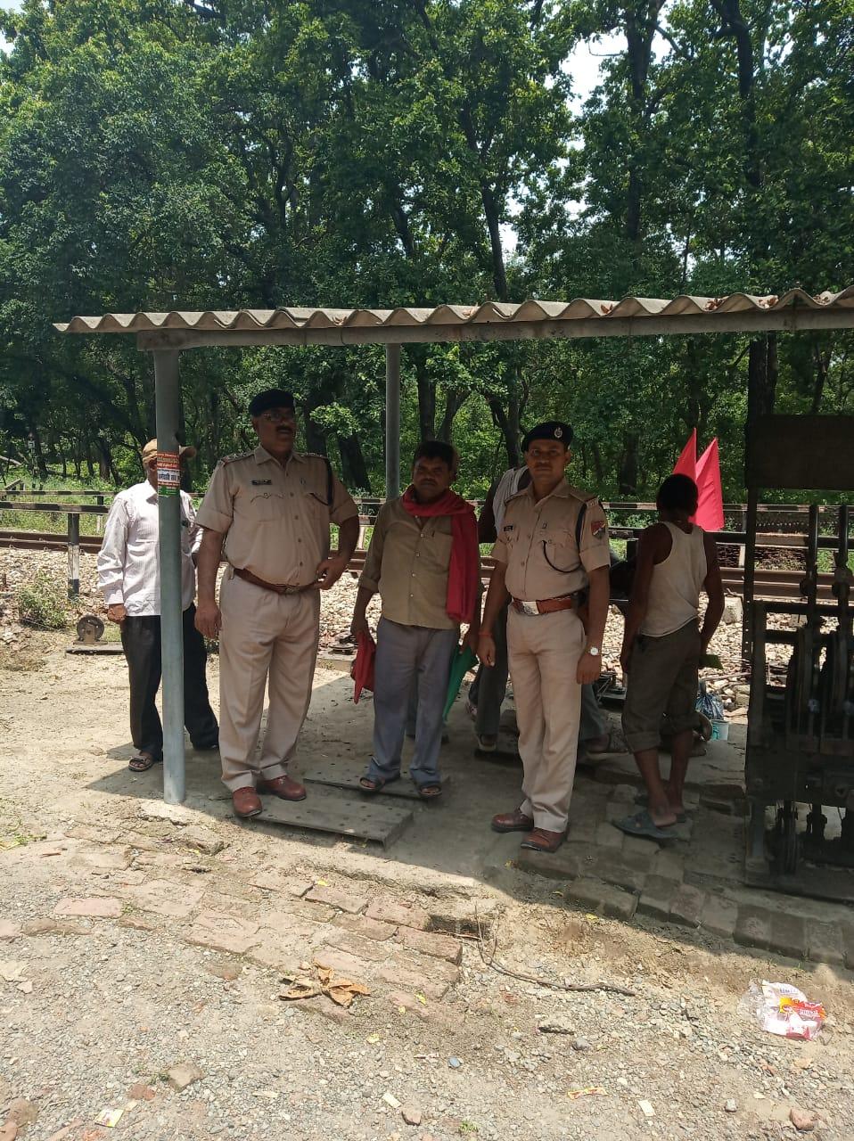 रेलवे सुरक्षा बल ने चलाया सफाई जागरूकता अभियान