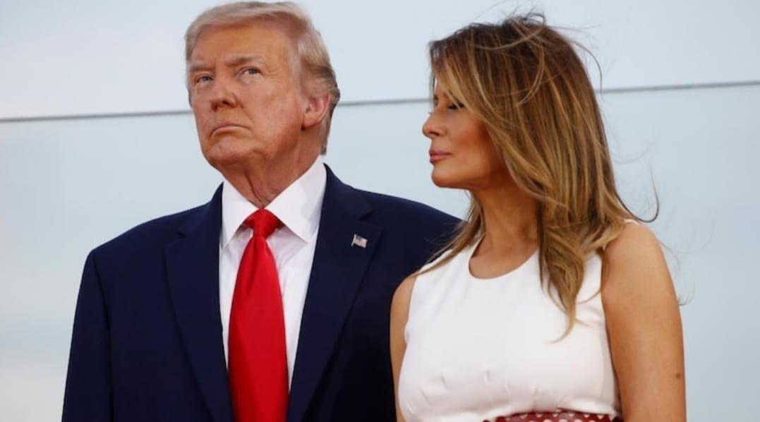 अमेरिका के राष्ट्रपति डोनाल्ड ट्रंप और उनकी पत्नी भी कोरोना पाजिटिव