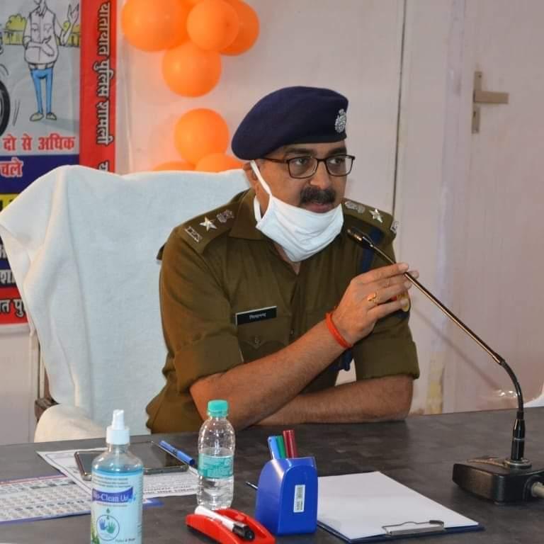पुलिस सेवा में समर्पित भाव एवं व्यवहार कुशल माने जाने वाले कप्तान नित्यानंद राय शामली में भी कर रहे बेहतर पुलिसिंग