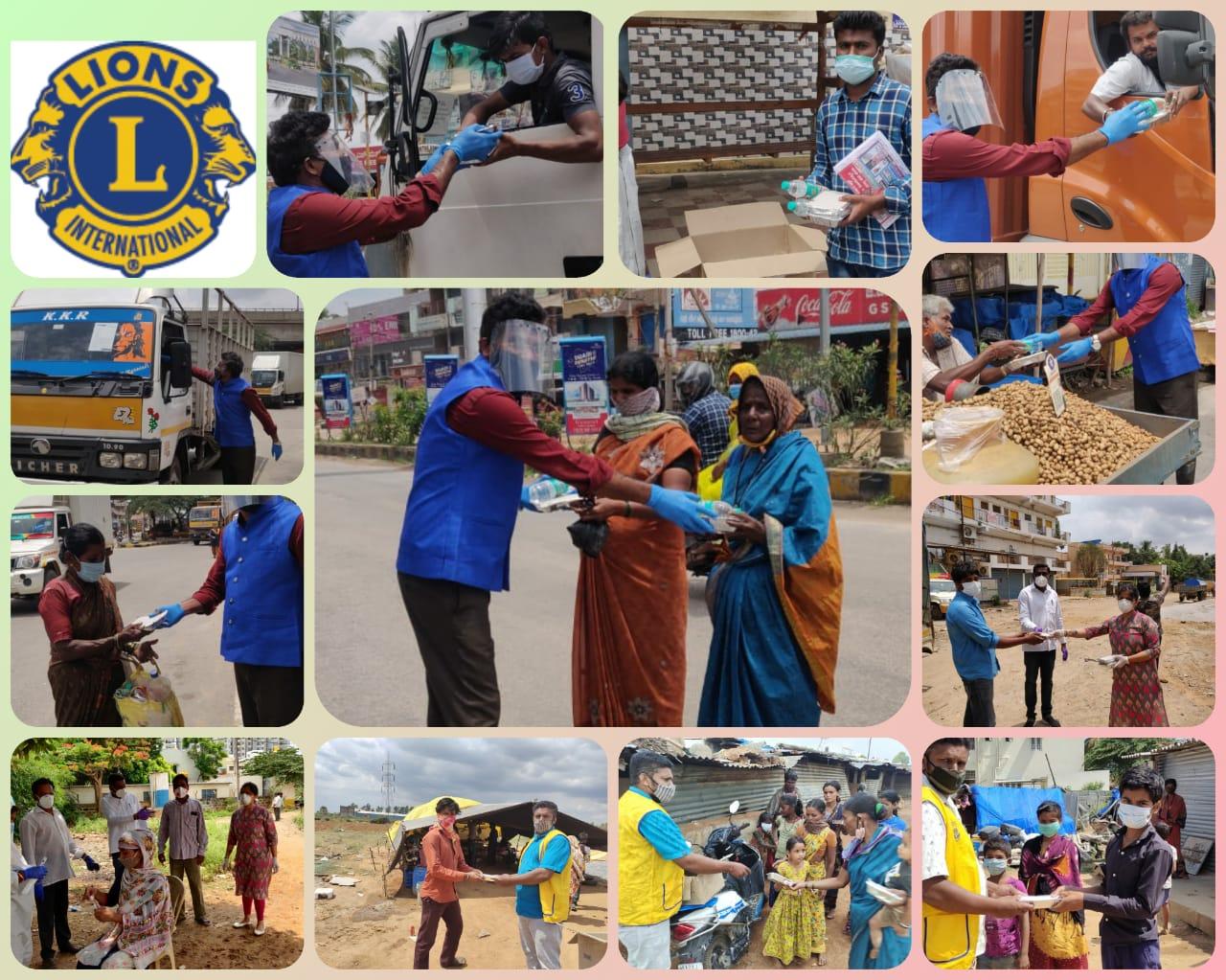 """एक हाथ , मदद का : गत 15 दिनों से """"लायंस ऑफ सरजापुरा"""" , समाज के समस्त वर्गों की सहायता में सतत प्रयत्नशील है।"""