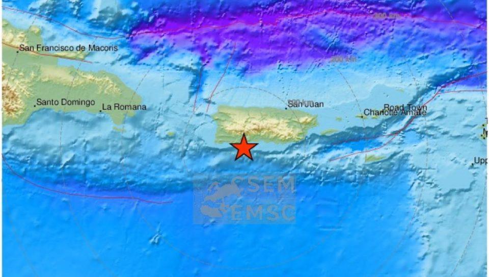 Magnitude 5.1 earthquake, puerto rico