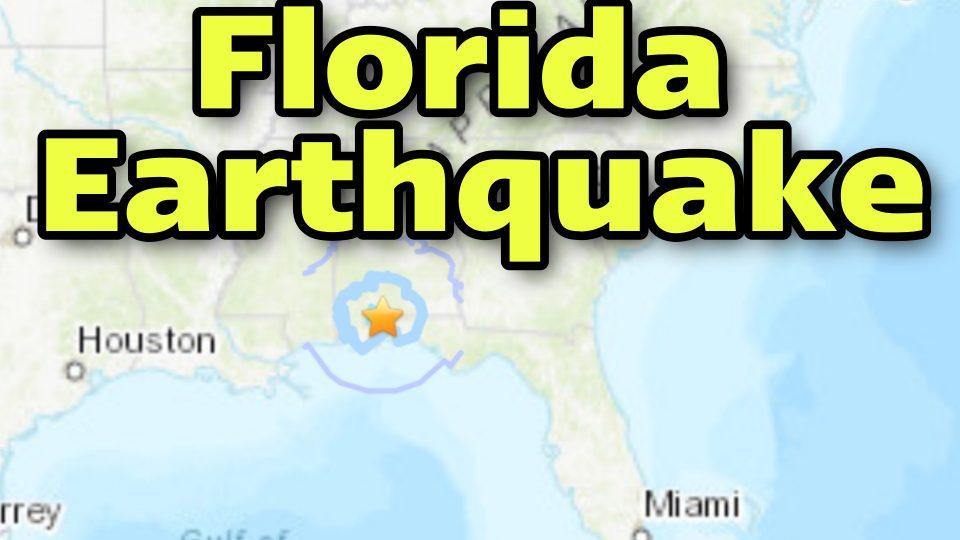 florida earthquake