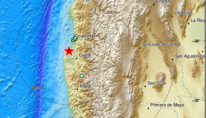 temblor hoy en chile,
